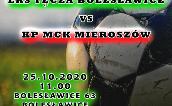 Zapraszamy na mecz ligowy z Tęcza Bolesławice!