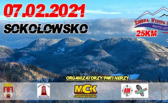 Zapraszamy na 2 Rajd Górski Zimowa Wyrypa Gór Suchych 2021!