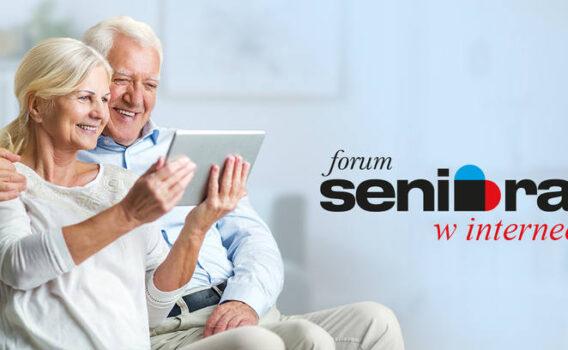 Seniorze, zadbaj o swoje zdrowie i weź udział w Forum Seniora online!