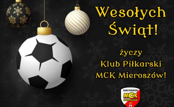 Najlepsze życzenia od Klubu Piłkarskiego MCK Mieroszów!