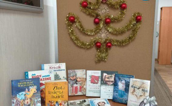Biblioteka Publiczna w Mieroszowie zaprasza po książki na święta!