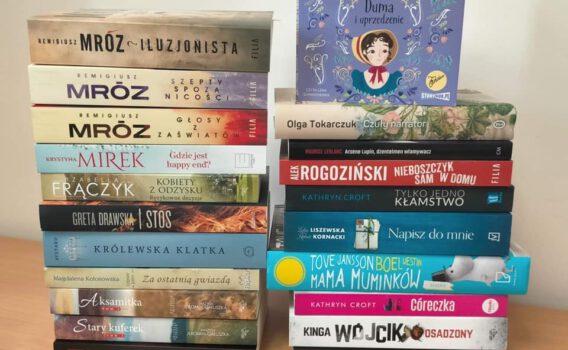 Nowości książkowe w bibliotece‼️🤩📚 Marzec 2️⃣0️⃣2️⃣1️⃣📚