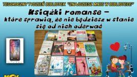 """Tydzień Bibliotek """"Znajdziesz mnie w bibliotece"""". 📚📖📚📖 #6️"""