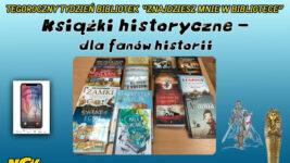 """Tydzień Bibliotek """"Znajdziesz mnie w bibliotece"""". 📚📖📚📖 #4️"""