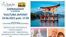 """Zapraszamy na spotkanie """"Kultura Japonii"""""""